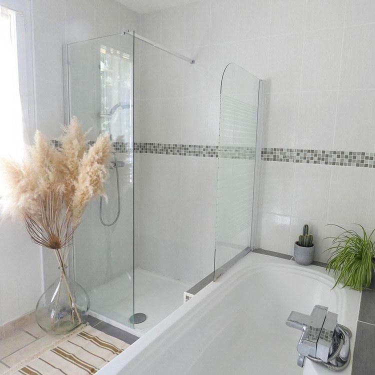 prix douche renovation salle de bain